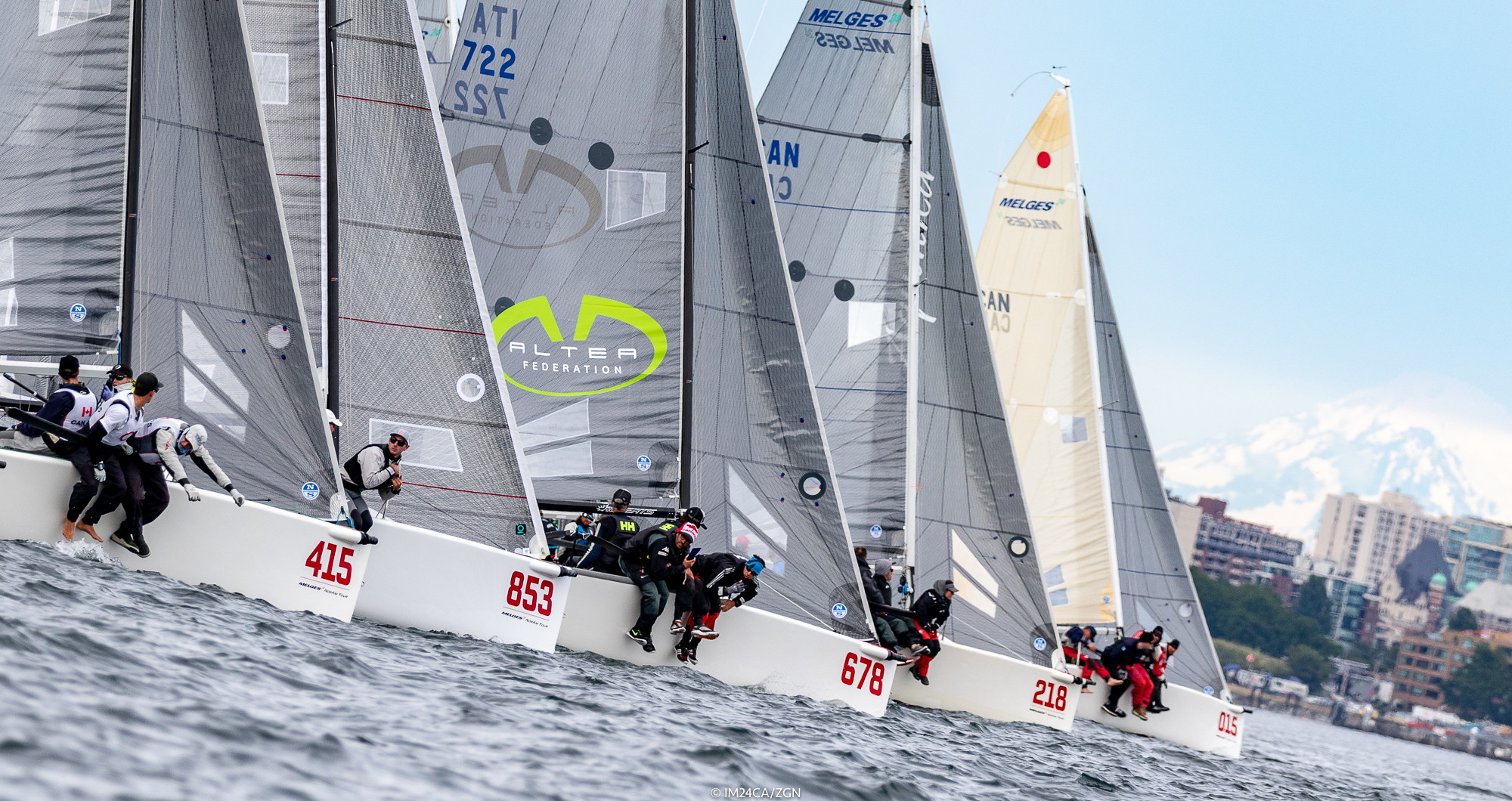 The starting line of the 2020 Melges 24 Worlds in Charleston is getting closer. - Photo © IM24CA / Zerogradinord