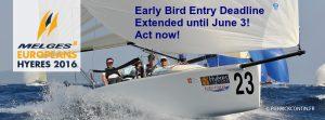 Melges 24 Europeans 2016 - Early Entry Deadline June 3