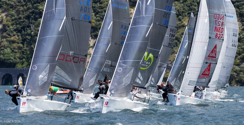 Melges 24 European Sailing Series Riva del Garda, 15-17 July 2016 ®IM24CA/ZGN