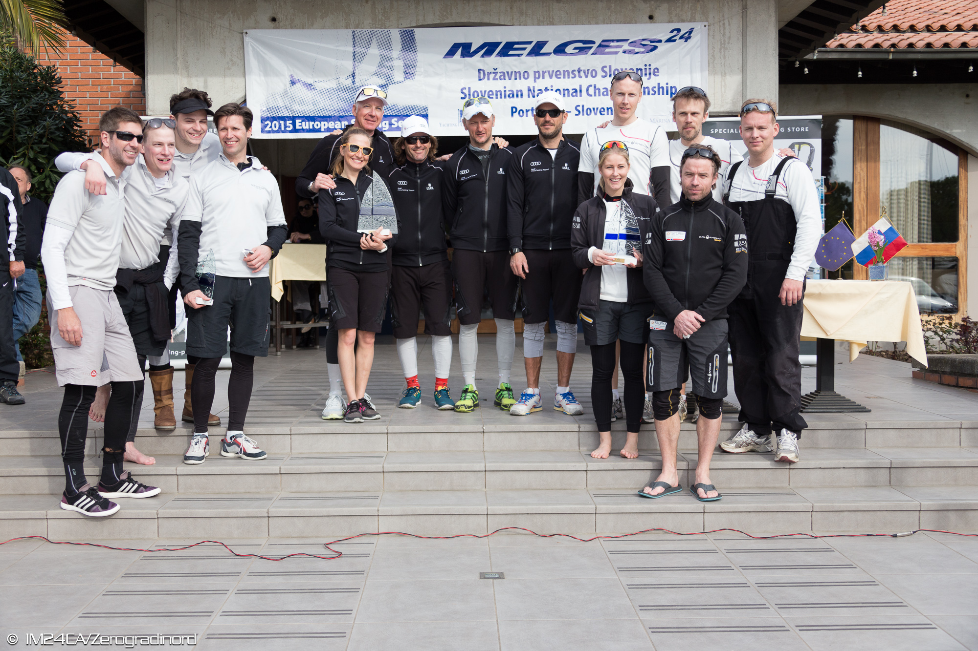 Top 3 Pro teams at the Portoroz Melges 24 Regatta