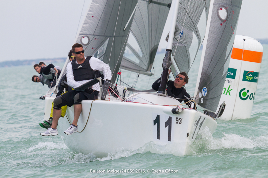 Balaton Melges 24 Spring Regatta - Peter Czegai and Jedi Business - photo Gabor