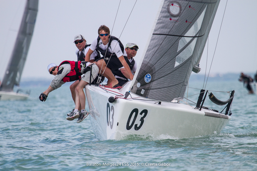 Balaton Melges 24 Spring Regatta - Miles Quinton's Gill Race Team - photo Gabor