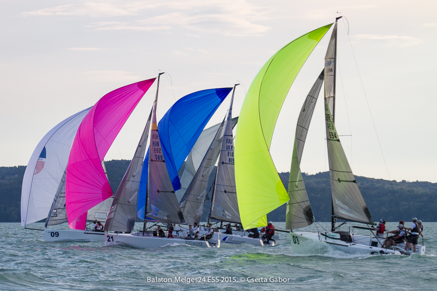 Balaton Melges 24 Spring Regatta - photo Gabor Cserta