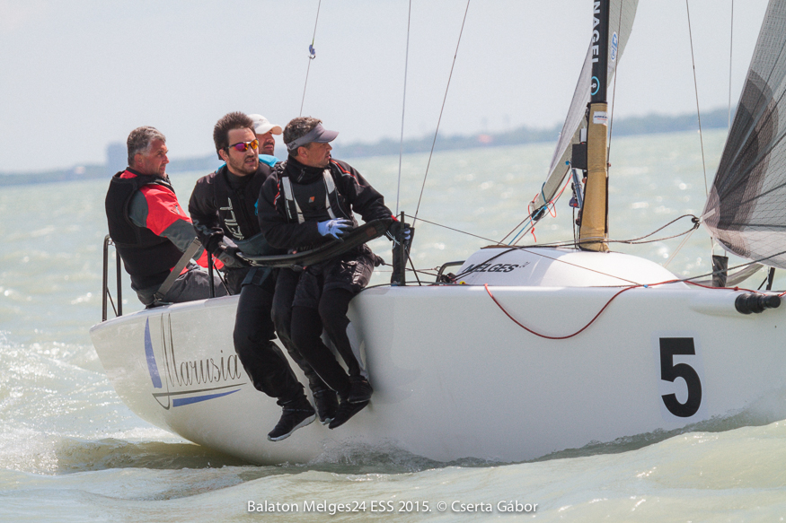 Balaton Melges 24 Spring Regatta - Oleg Dyvinets and Marusia (UKR-819) - photo G