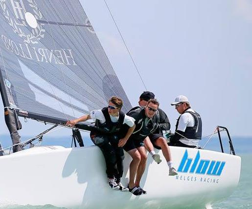 Blow Henry Lloyd NOR787 - Melges 24 Europeans 2014