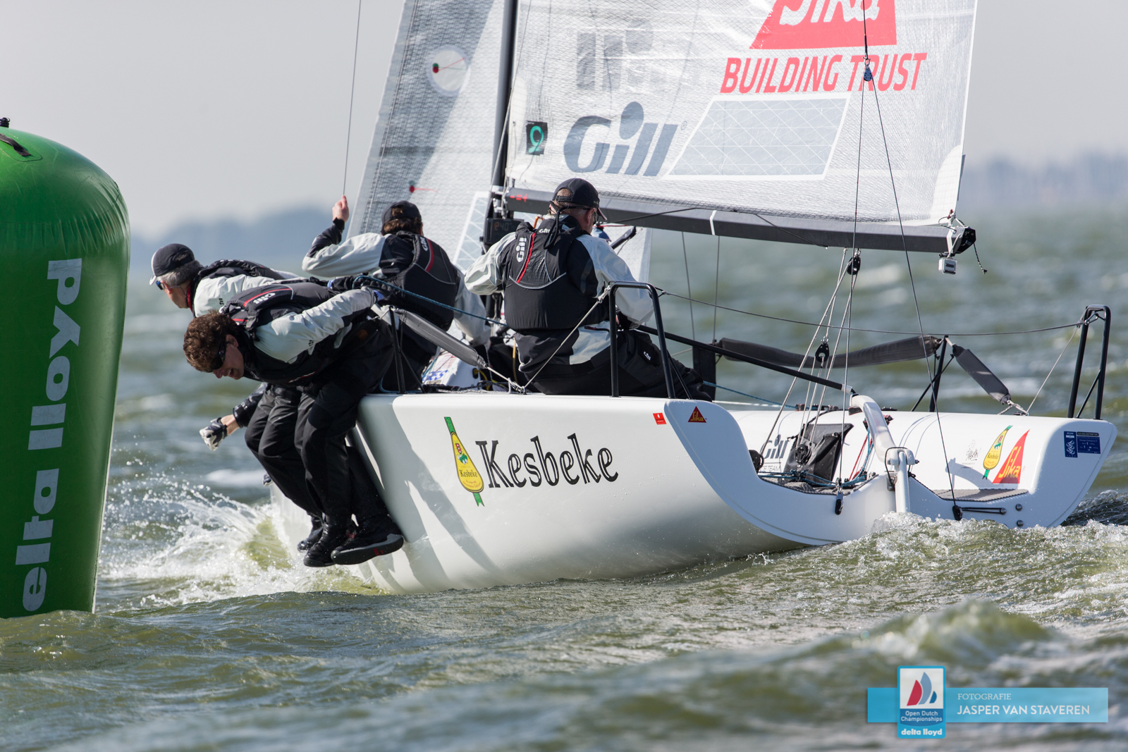 Ronald Veraar's Team Kesbeke/Sika/Gill NED827 - photo Jasper van Staveren