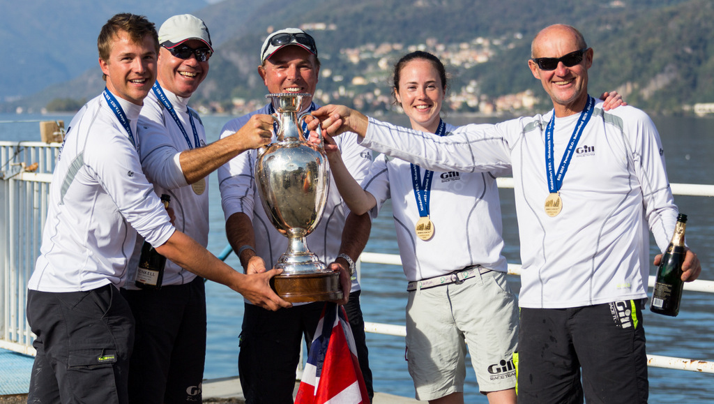 Miles Quinton's Gill Race Team GBR694 with helmsman Geoff Carveth - overall winn