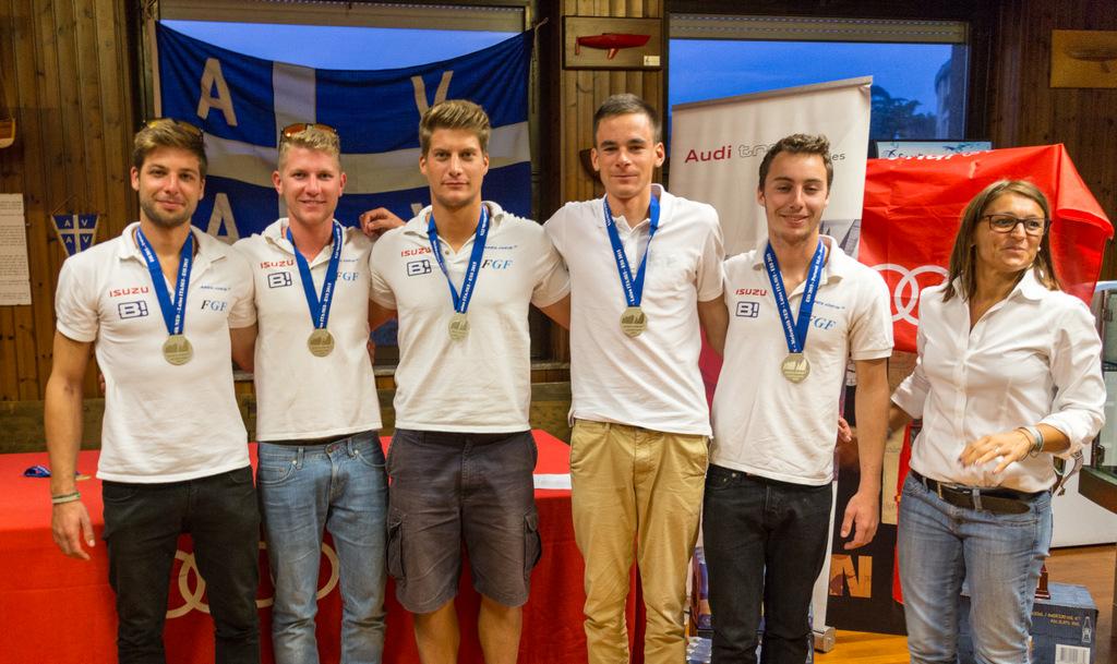 Kalman Rozsnyay's FGF Sailing Team HUN728 with helmsman Robert Bakoczy - overall