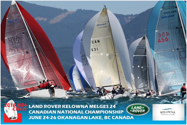 Land Rover Kelowna >> Land Rover Kelowna Melges 24 Canadian Nationals Stage 1 Of The