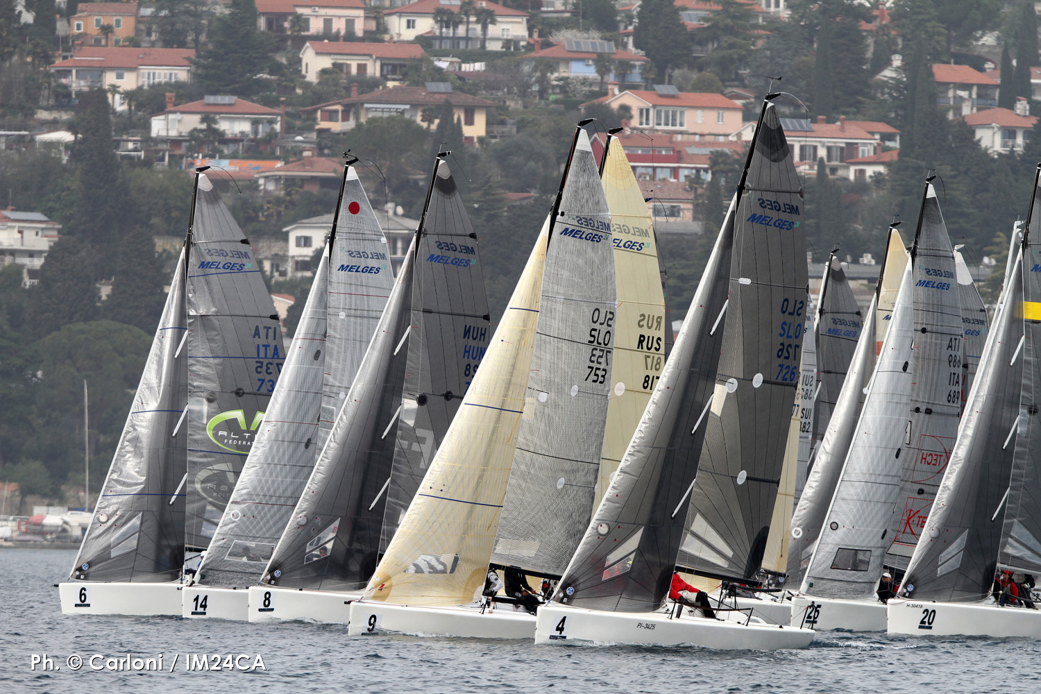 016 - Portoroz - Melges 24 European Sailing Series - Day 1
