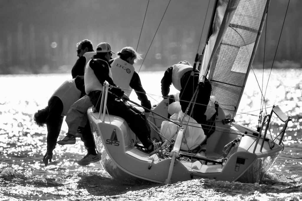 Chris Rast and EFG Melges 24 team