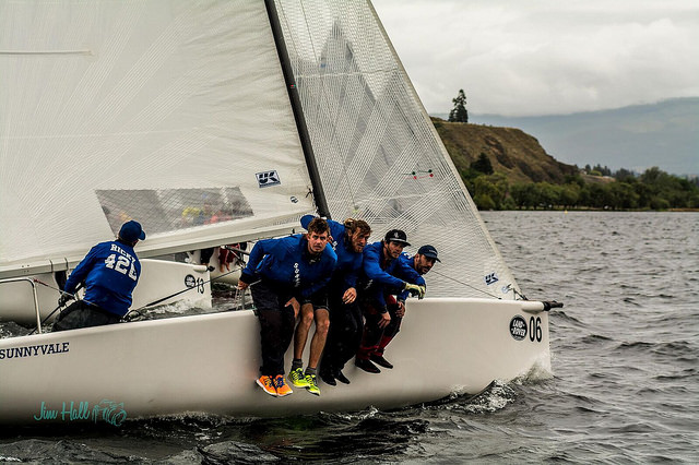 Fraser McMillan and the Wet Coast Sailing Team on Sunnyvale CAN151