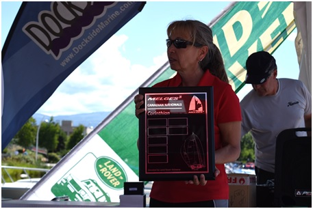 Land Rover Kelowna Melges 24 Canadian National Championship committee member, Tr