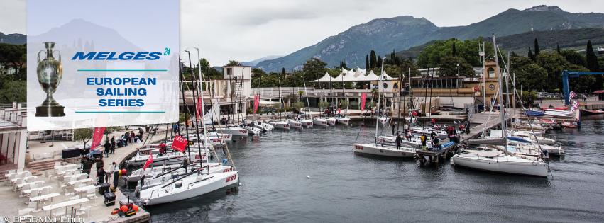 Melges 24 European Sailing Series in Riva