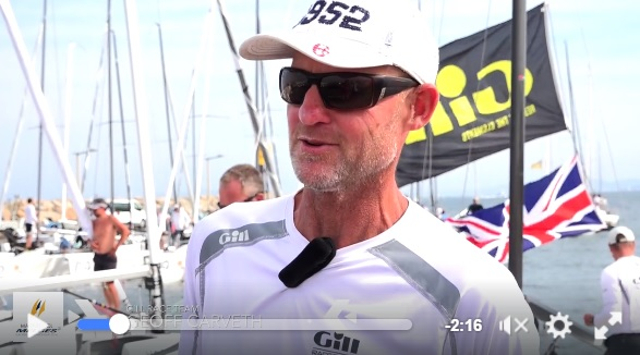 Geoff Carveth - Marinepool Melges 24 Europeans 2016