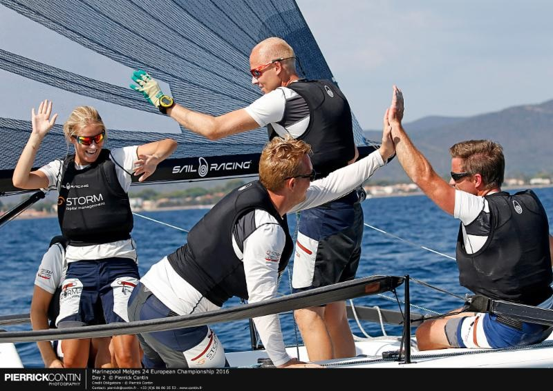 Peder Jahre's Storm Capital Sail Racing NOR751 - photo Pierrick Contin