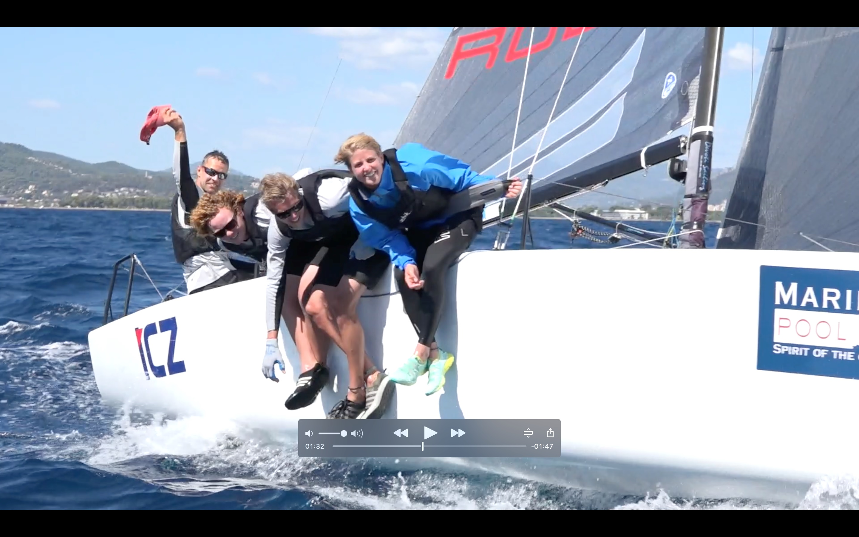 Day 3 video at the Melges 24 Europeans 2016