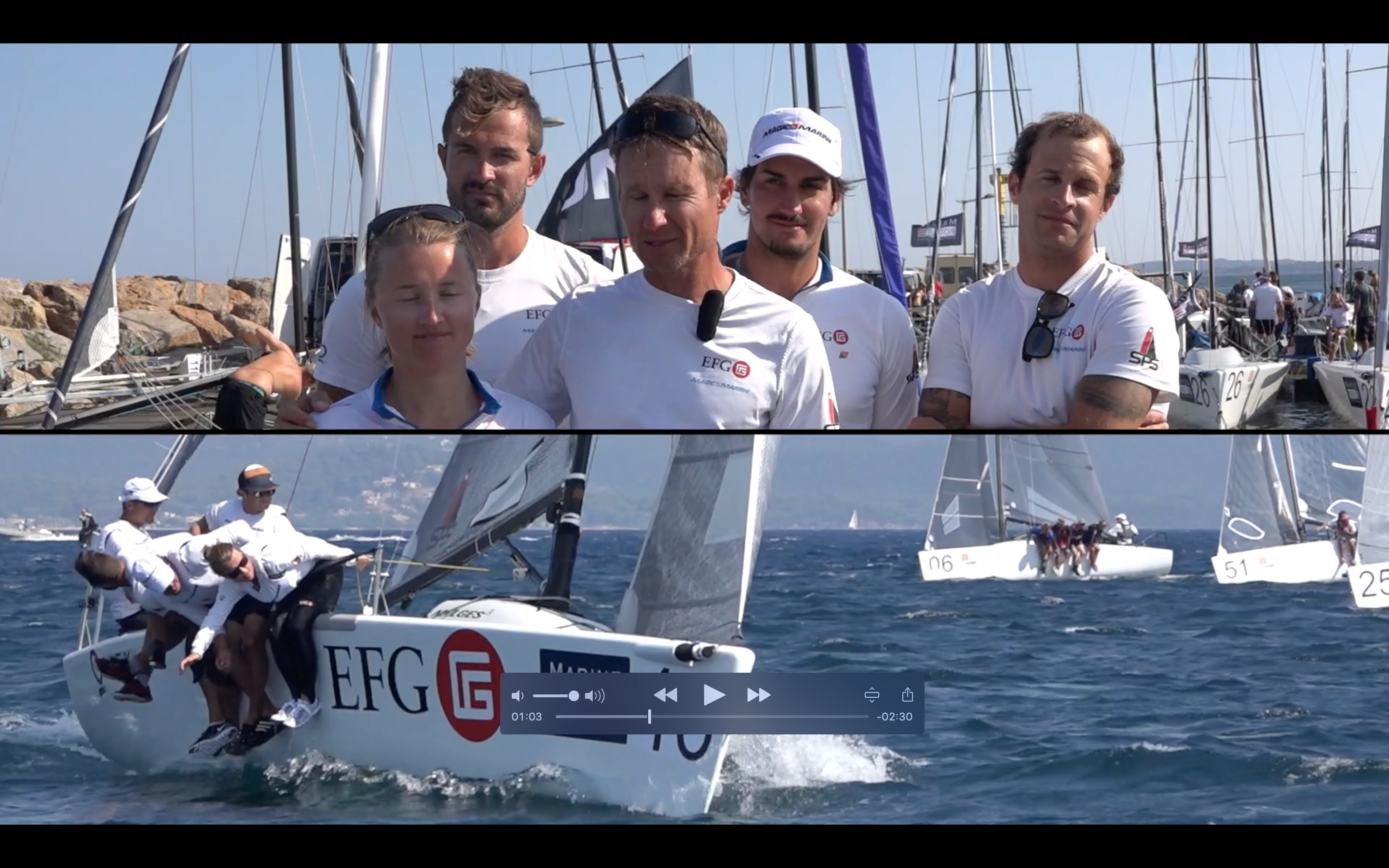 Day 4 video - Melges 24 Euros