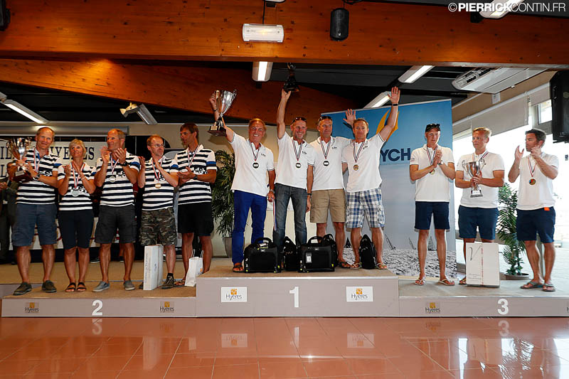 Melges 24 European Championship 2016 - Top 3 teams in Corinthian division - phot