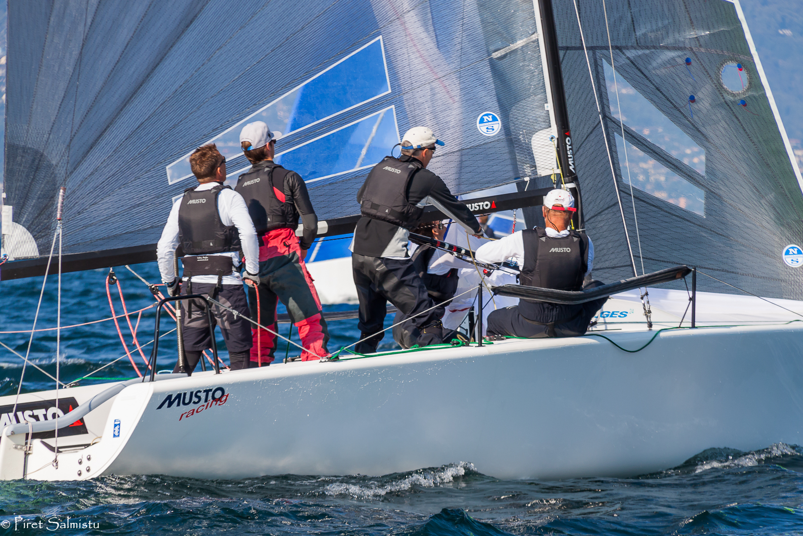Eddy Eich's Musto Racing (GER) with Kicker Schäfer helming