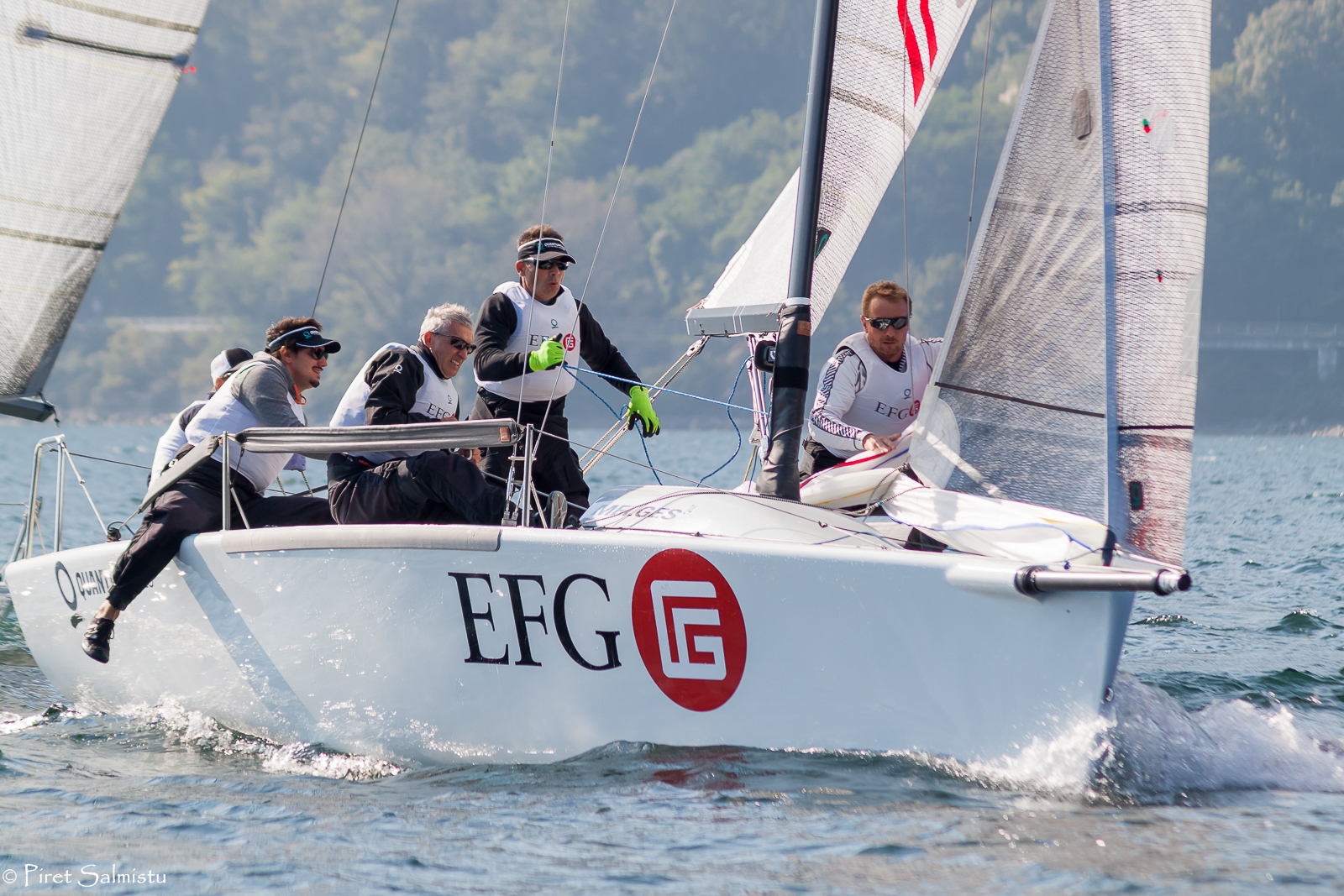 EFG with Carlo Fracassoli in helm