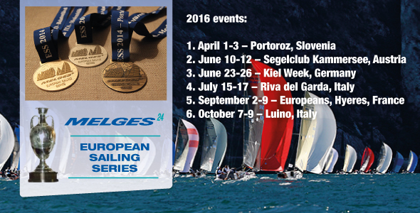 Melges 24 European Sailing Series 2016