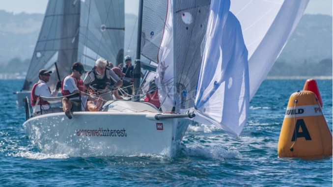 Andy Wharton's Accrewed Interest took out the Helly Hansen Melges 24 Nationals