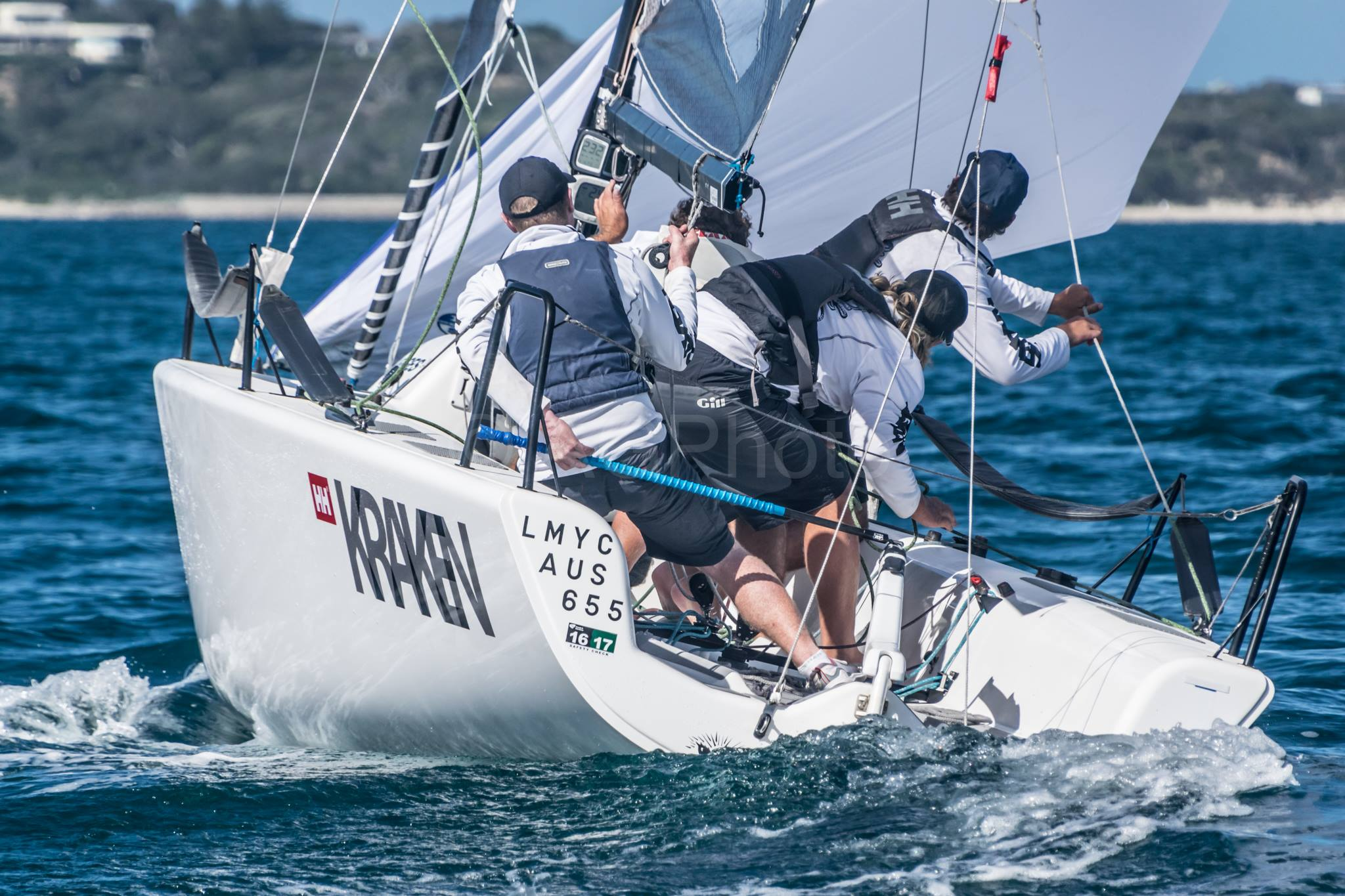 Dave Young and Kraken AUS655 - Melges 24