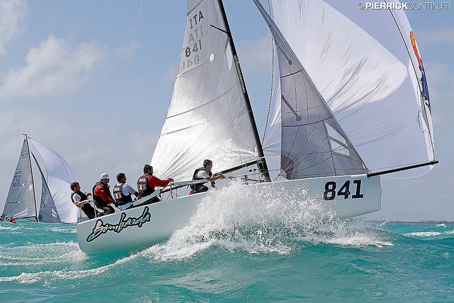 Bombarda ITA841 in Miami Melges 24 Worlds 2016