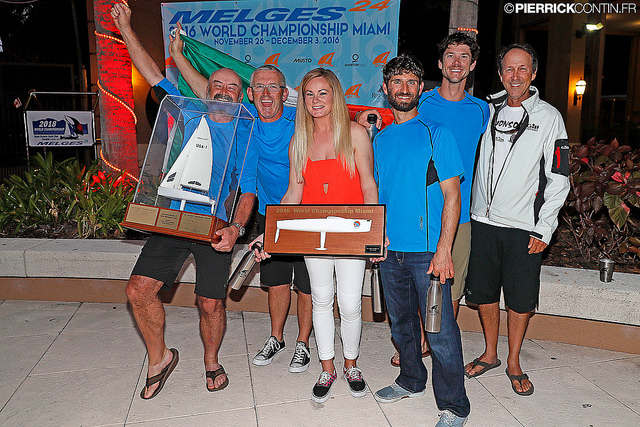 Embarr IRL829 Melges 24 World Champion 2016