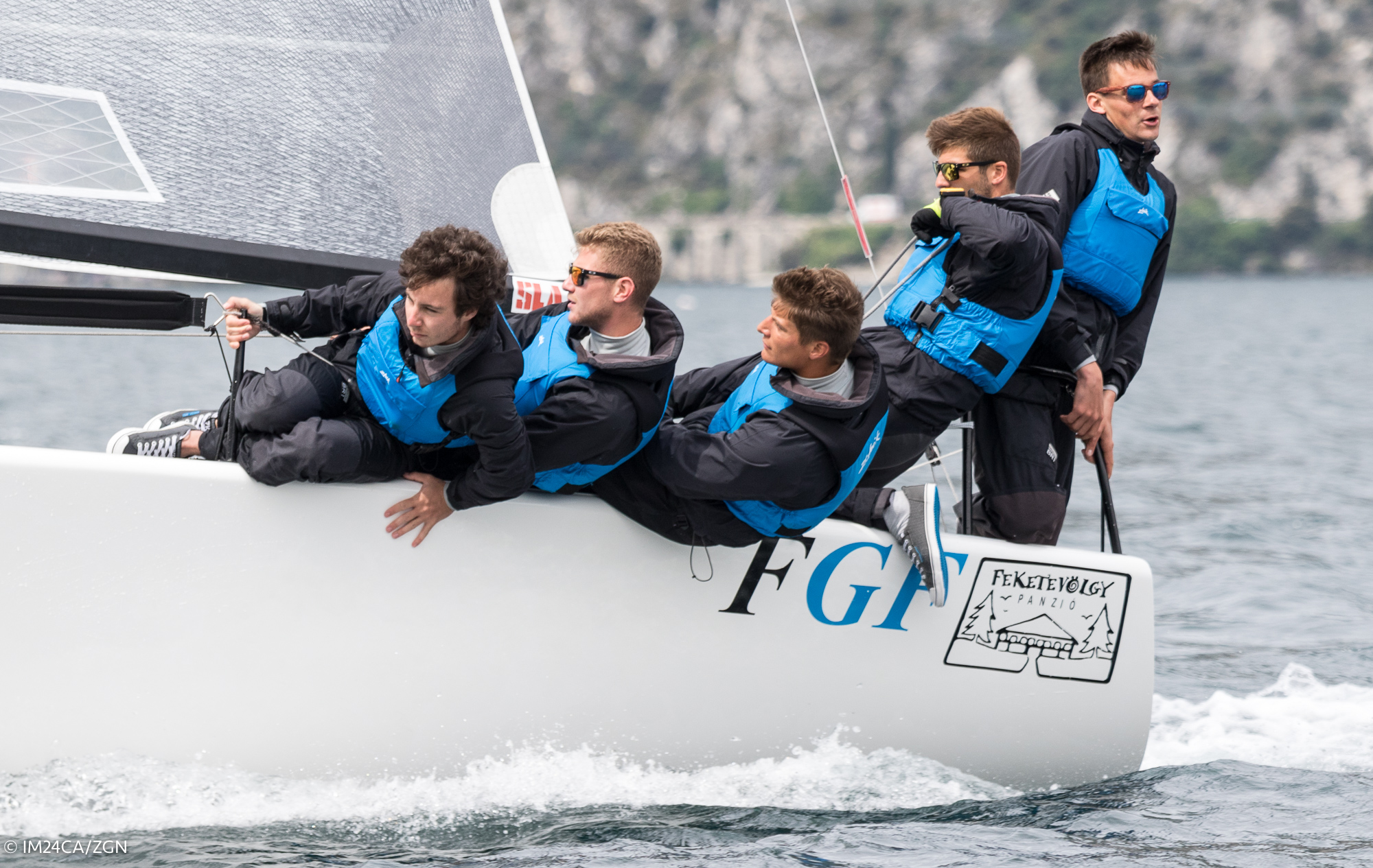 FGF Sailing Team HUN728 Riva Day 2 ESS2017