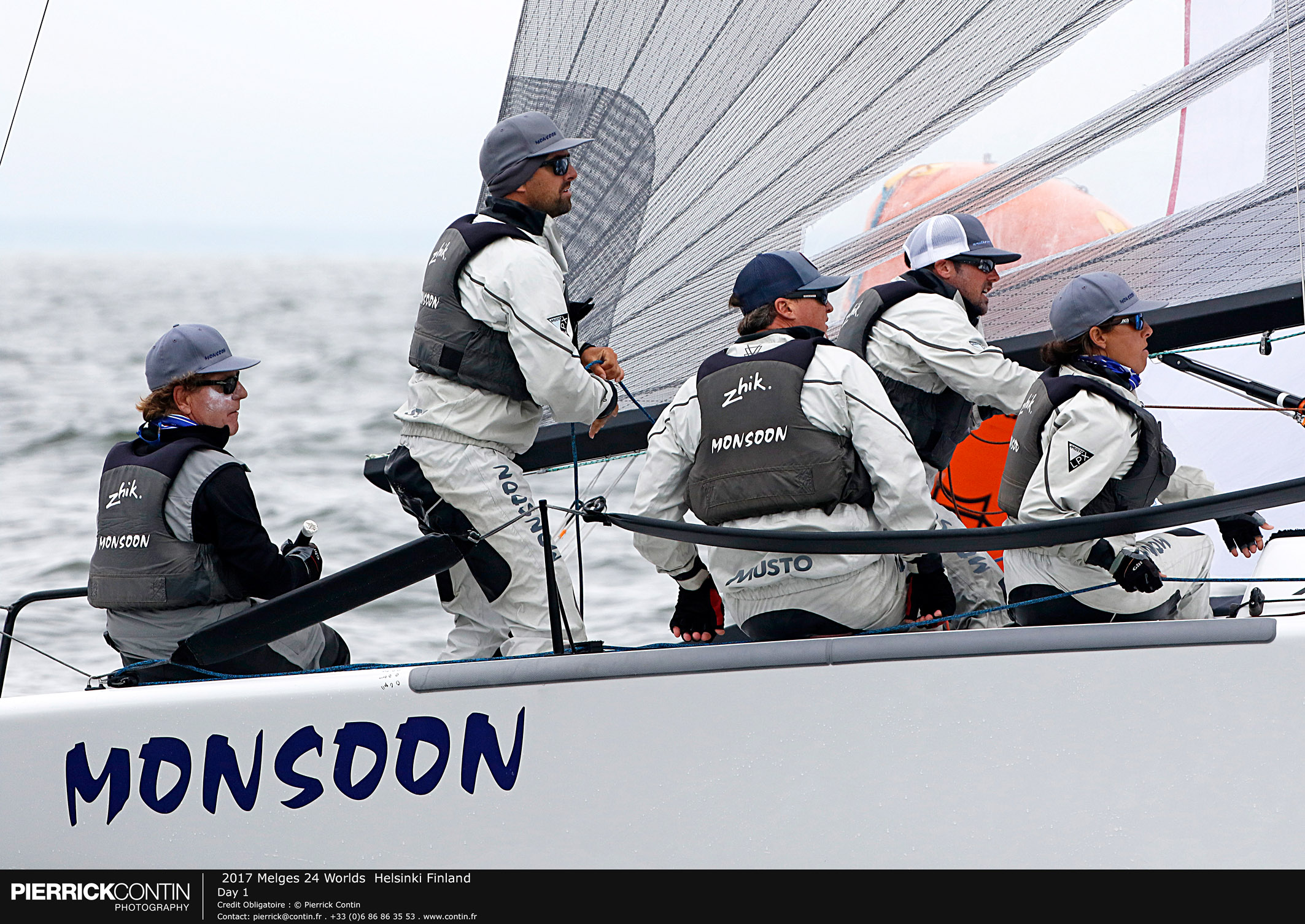 Melges24Worlds_Day1 - Monsoon USA851