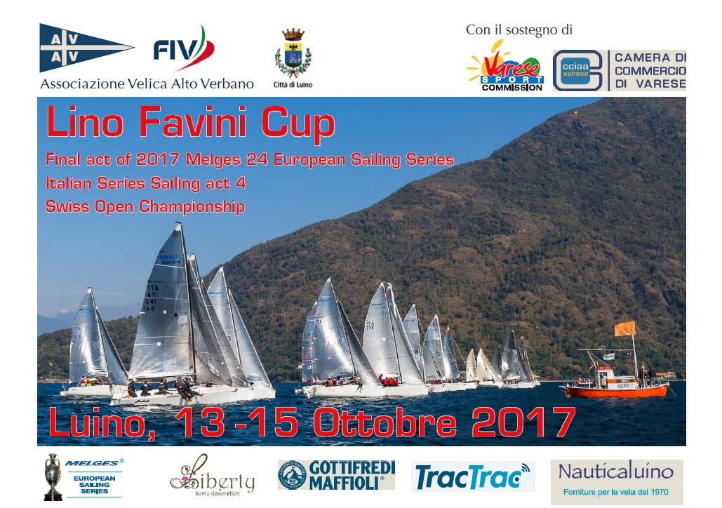 Melges 24 Lino Favini Cup 2017 with logos