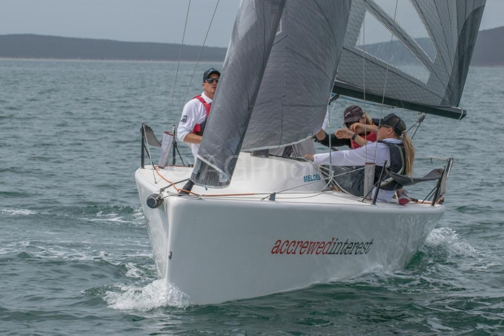 Melges 24 - AUS - Andy Wharton ACCREWED INTEREST - Ally Graham
