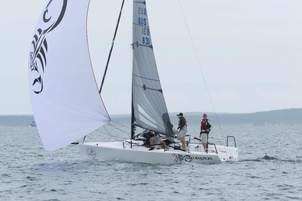 Melges 24 - AUS - Sandy Higgins - Ph Ally Graham