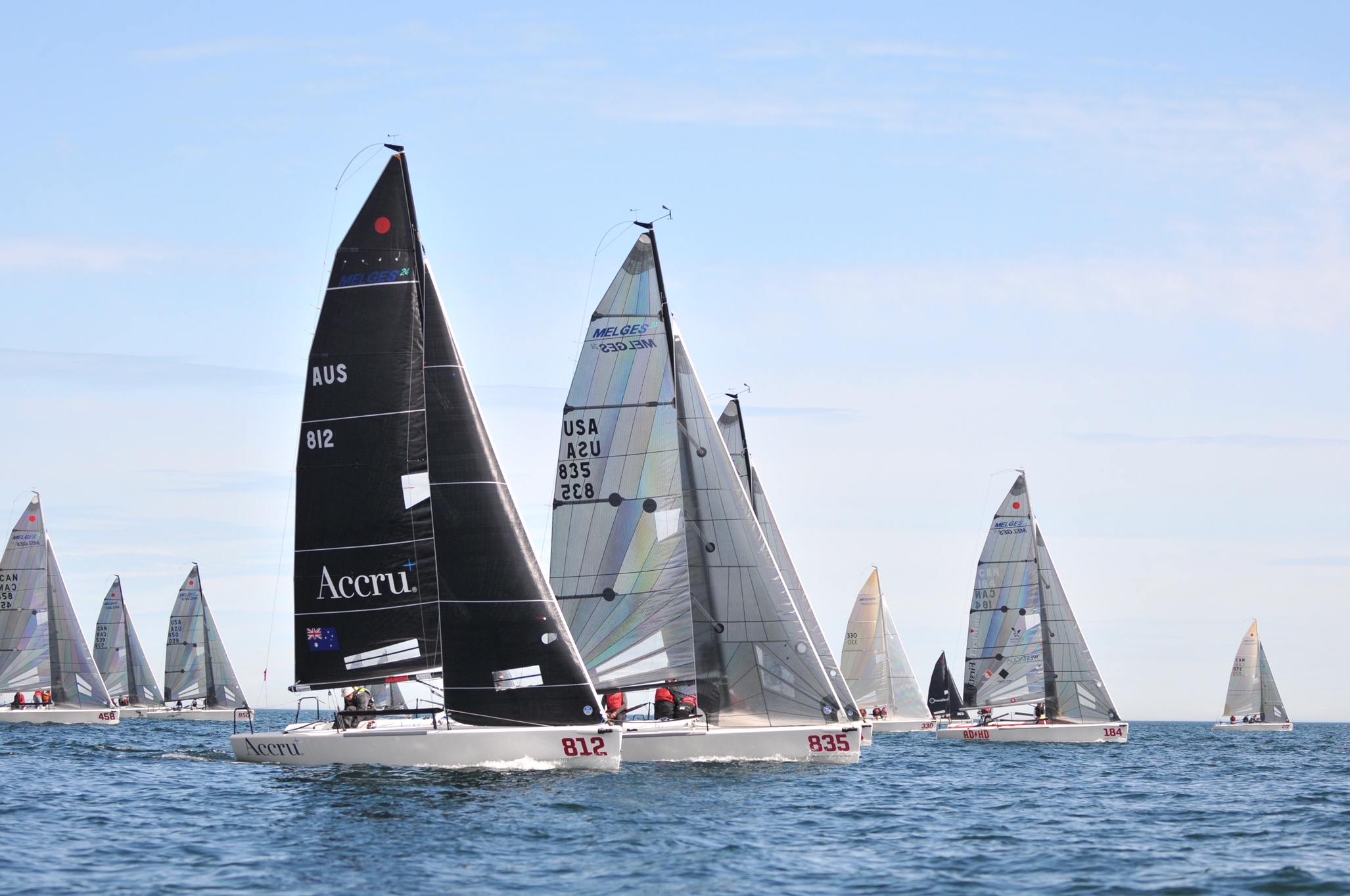 Melges 24 CAN Nationals 2018 - Thomas Hawker