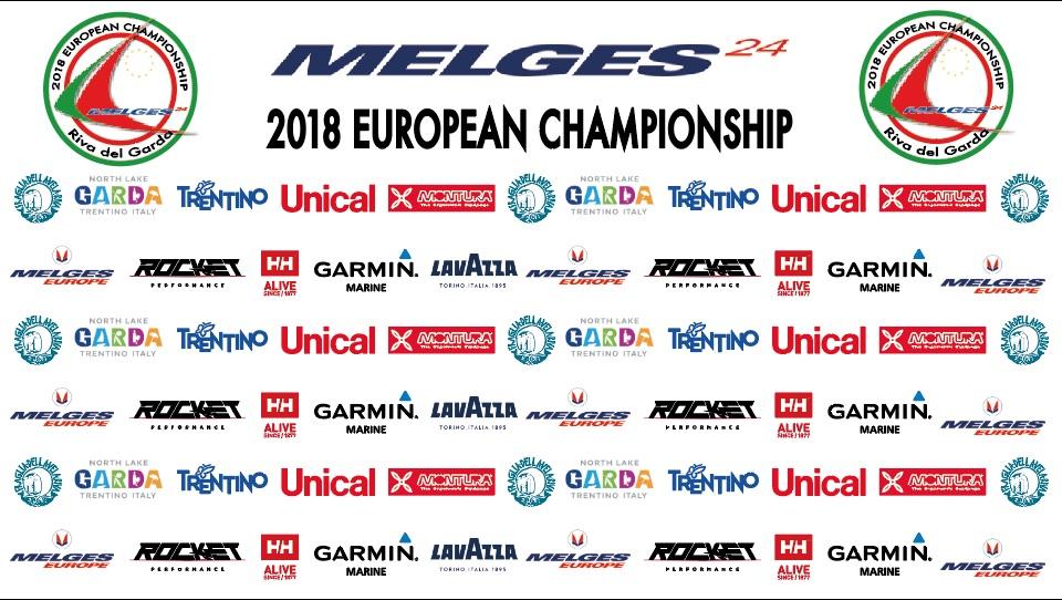 Melges 24 euros 2018 - logos