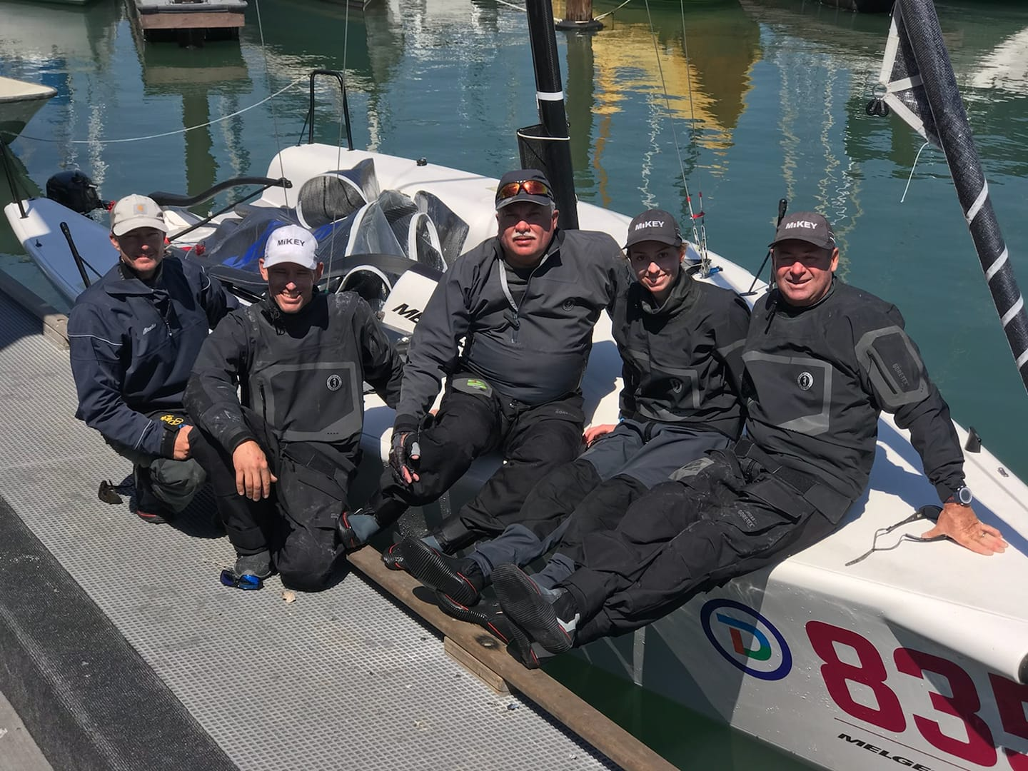 Kevin Welch's MIKEY team - Melges 24 US Champion 2018