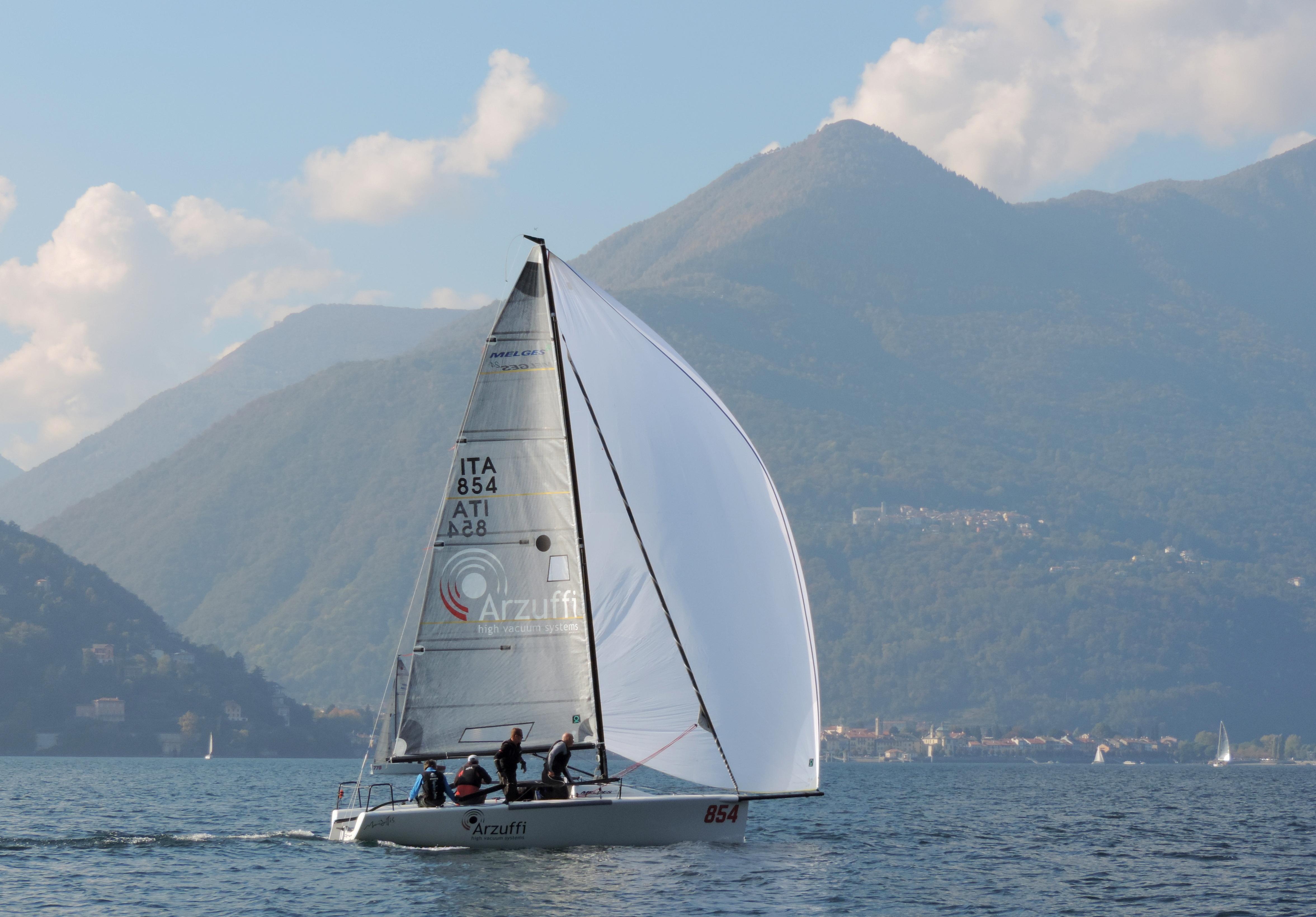52001efcd74dc0 2018 Melges 24 European Sailing Series Day Two in Luino - Flavio ...