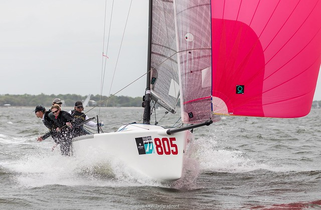 Melges 24 USA805 Decorum - photo CRW/ZGN