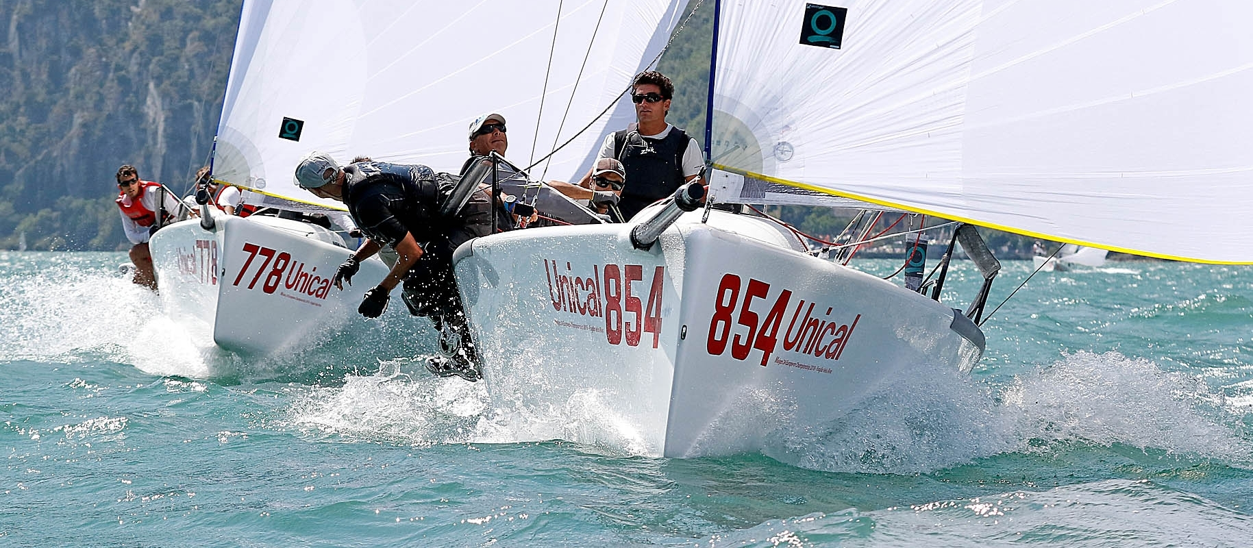 Maidollis ITA854 and Taki 4 ITA778 - 2018 European Overall and Corinthian Champions