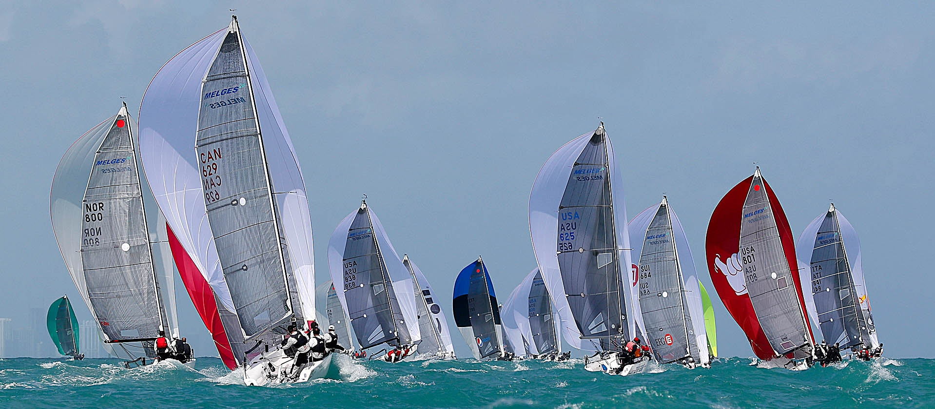 2016 Melges 24 World Championship in Miami, USA